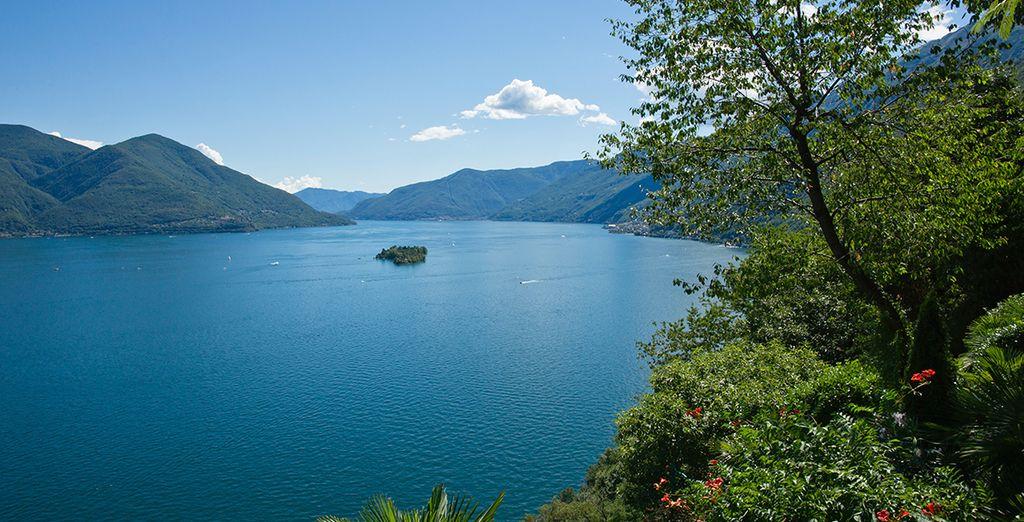 On the shores of Lake Maggiore
