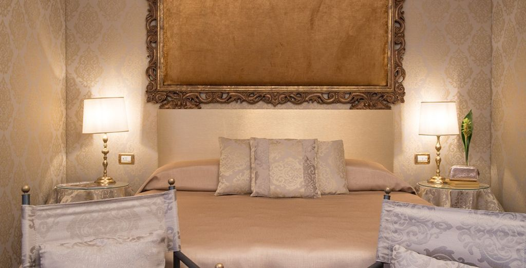 Our members will stay in a stylish Classic Room