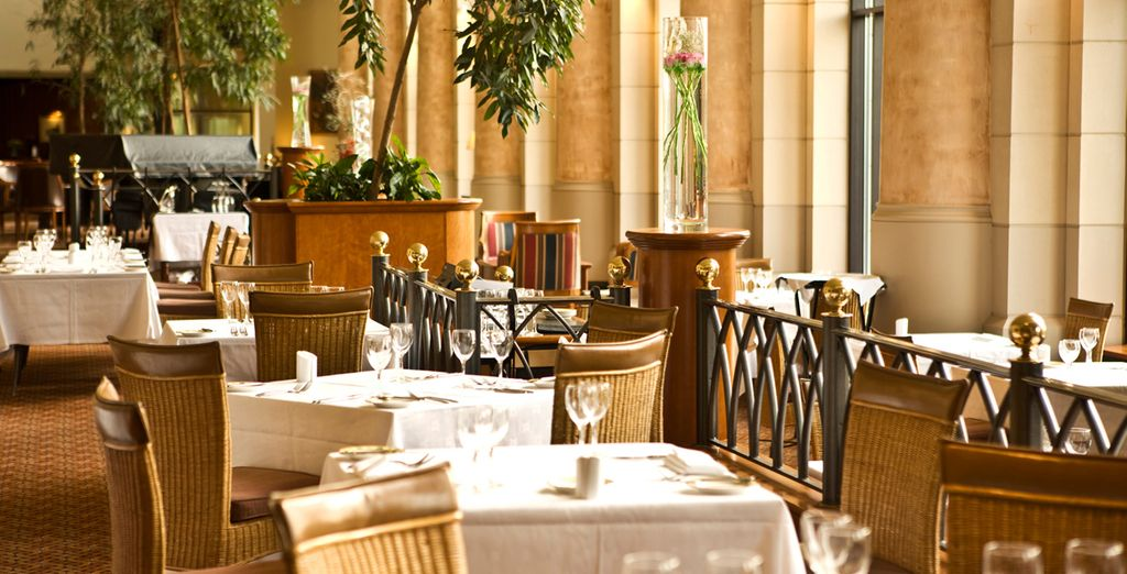 Enjoy culinary delights at the array of spectacular restaurants