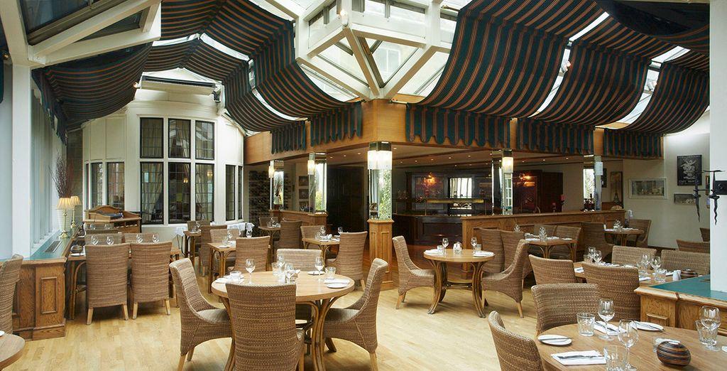 The charmingly French LePatio Restaurant