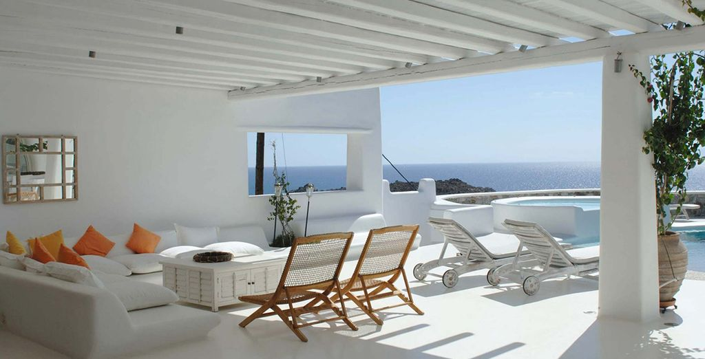 And this boutique resort has everything you'll need for the ultimate Cycladic holiday...