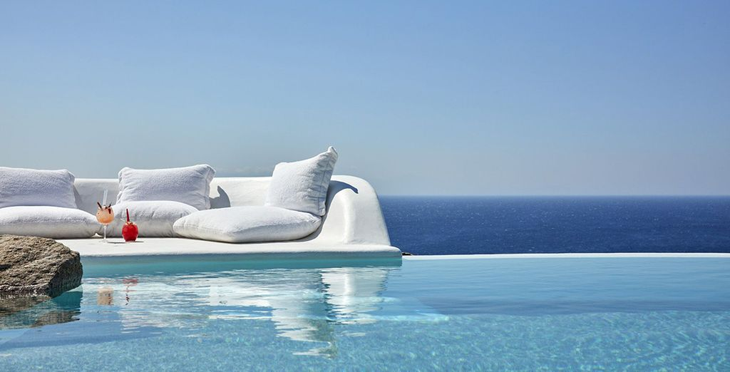 Where the day offers poolside relaxation and ocean views