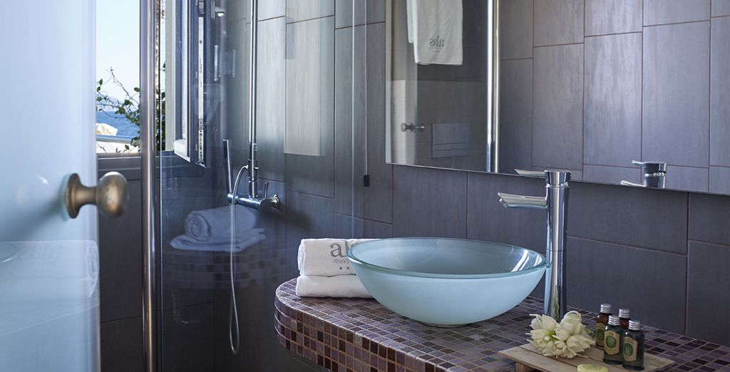 With a luxury ensuite