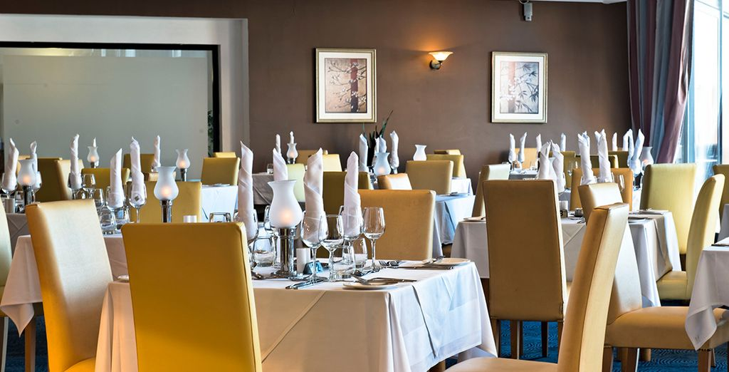 Treat yourself to an elegant dining experience