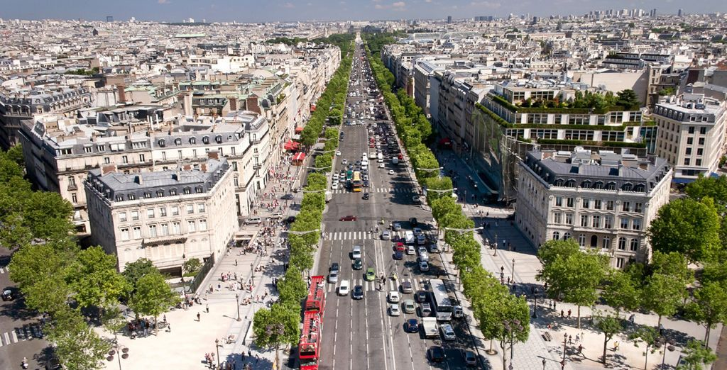 You'll revel in the central location right by Champs-Élysées