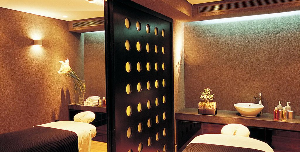 Indulge your senses in the spa