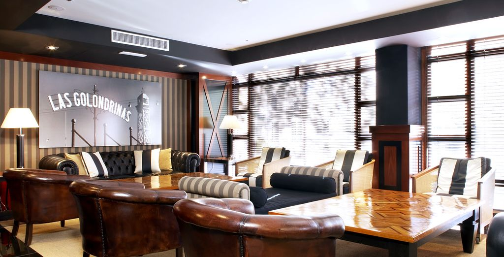 And experience a stylish city stay