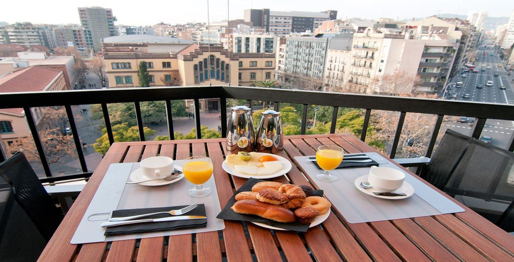 Why not enjoy your daily breakfast here?
