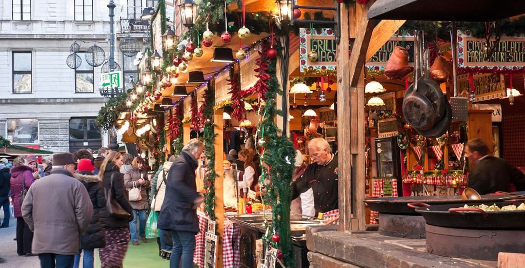 And take a stroll around the winter market