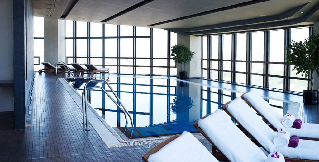 After sightseeing, head for the luxury spa at Corinthia Hotel Prague