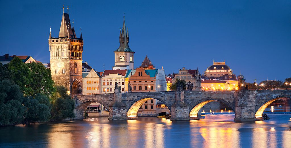 Don't miss the famous Charles Bridge