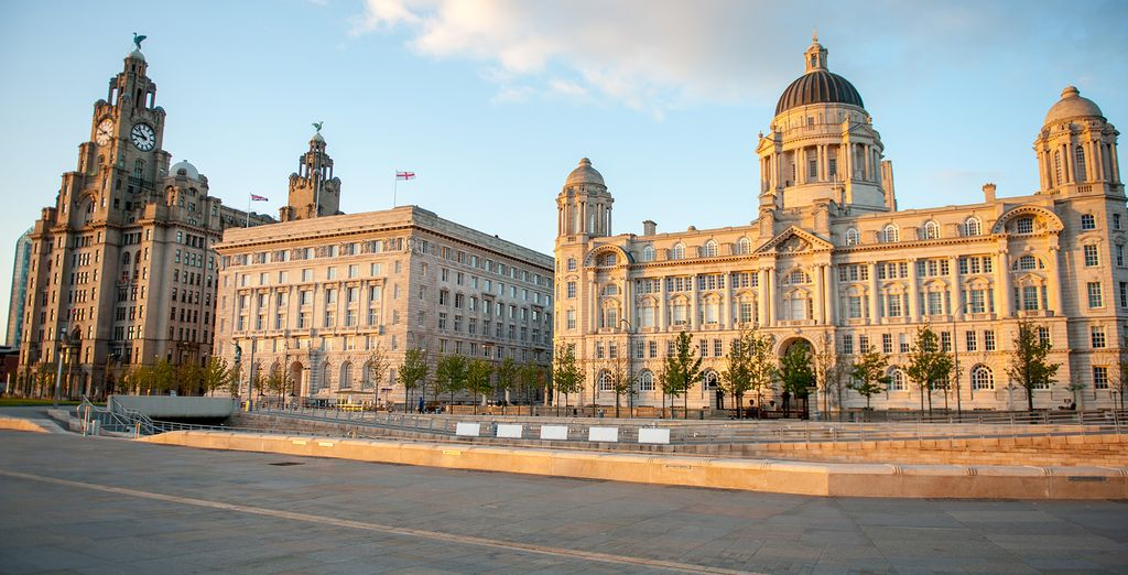 Travel through time and discover Liverpool's culture and history