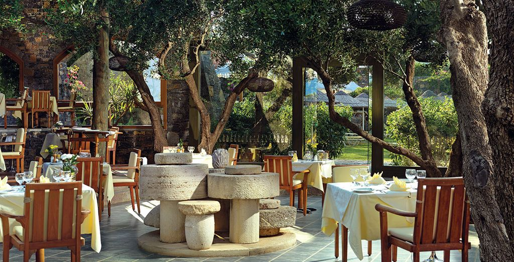 Dine in some idyllic locations