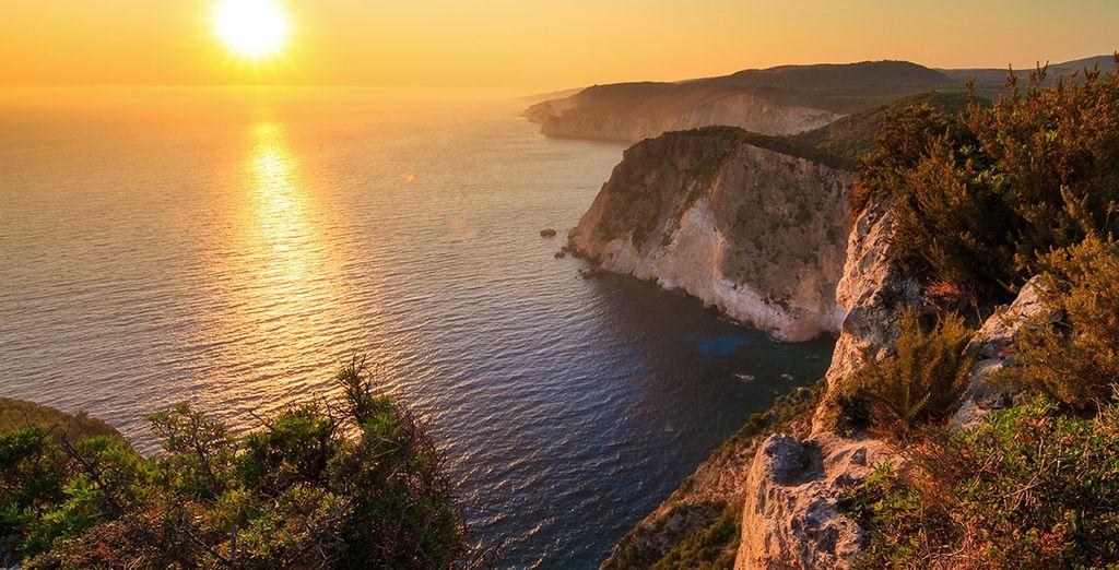 On the unspoiled island of Zakynthos