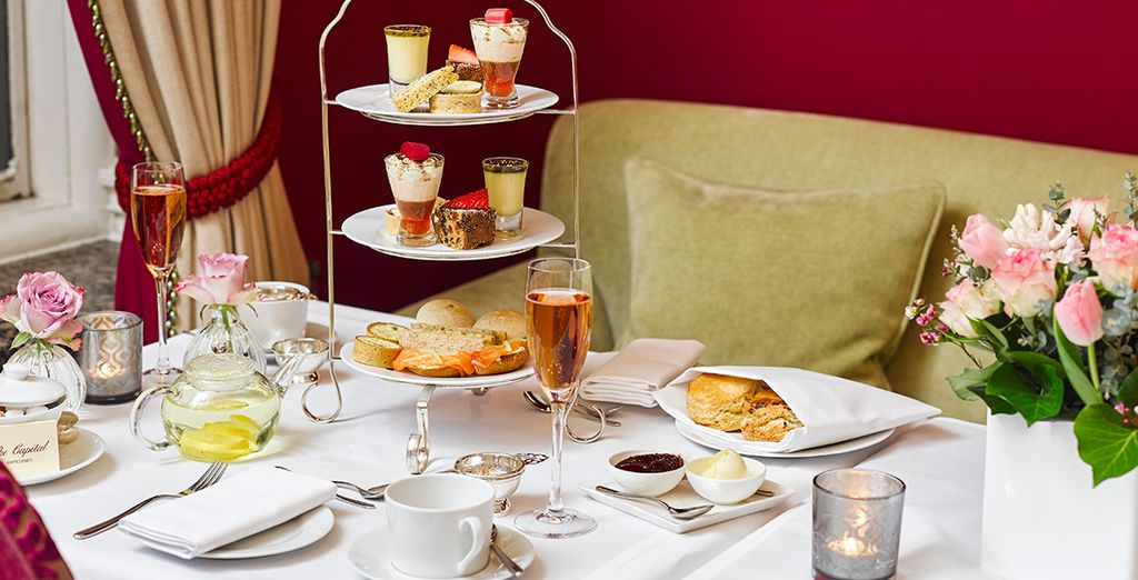 Or an indulgent Afternoon Tea!