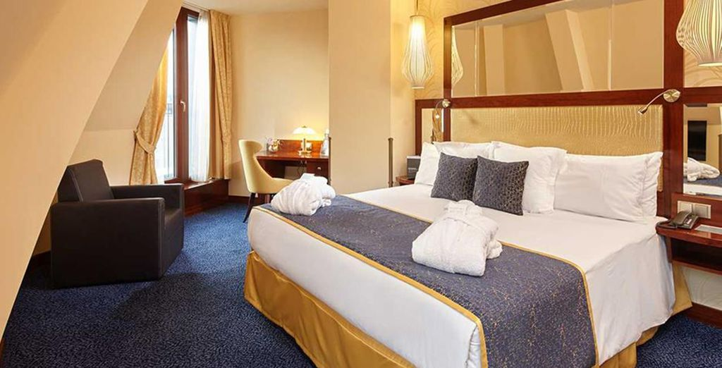 Stay in an executive room