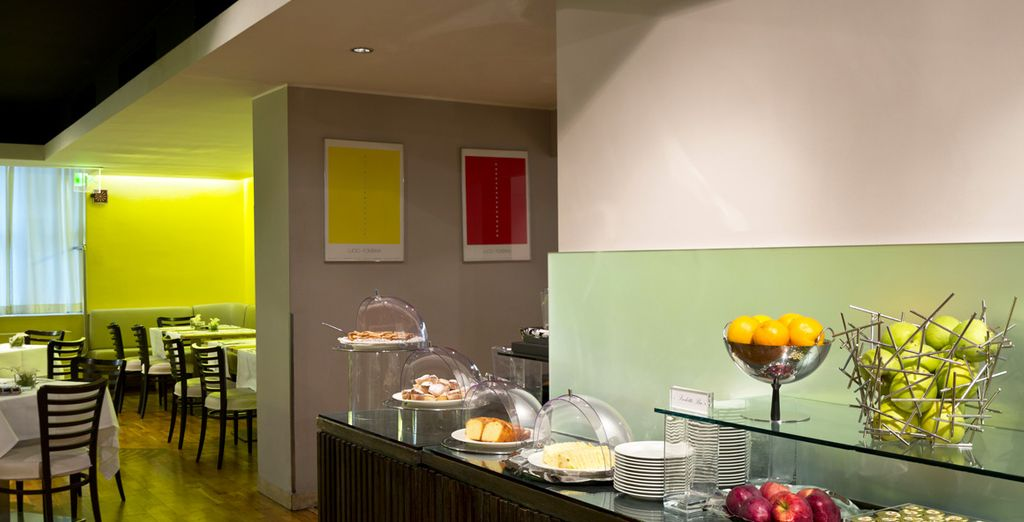 Wake up to breakfast every morning at Hotel Tocq