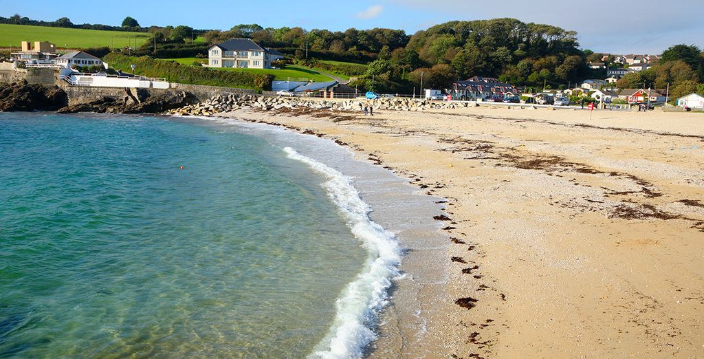 You are close to numerous pretty beaches - Falmouth is just a short drive away