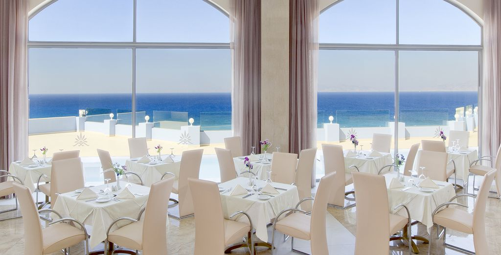 Embark on a culinary journey in a refined environment
