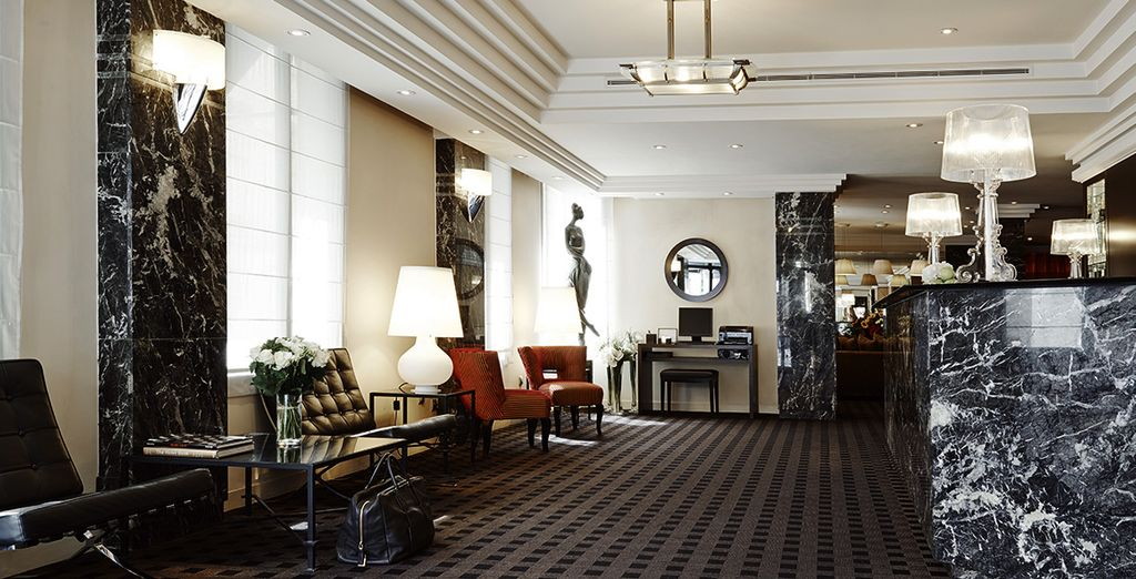 Home to the fantastic Hotel Plaza Tour Eiffel 4*