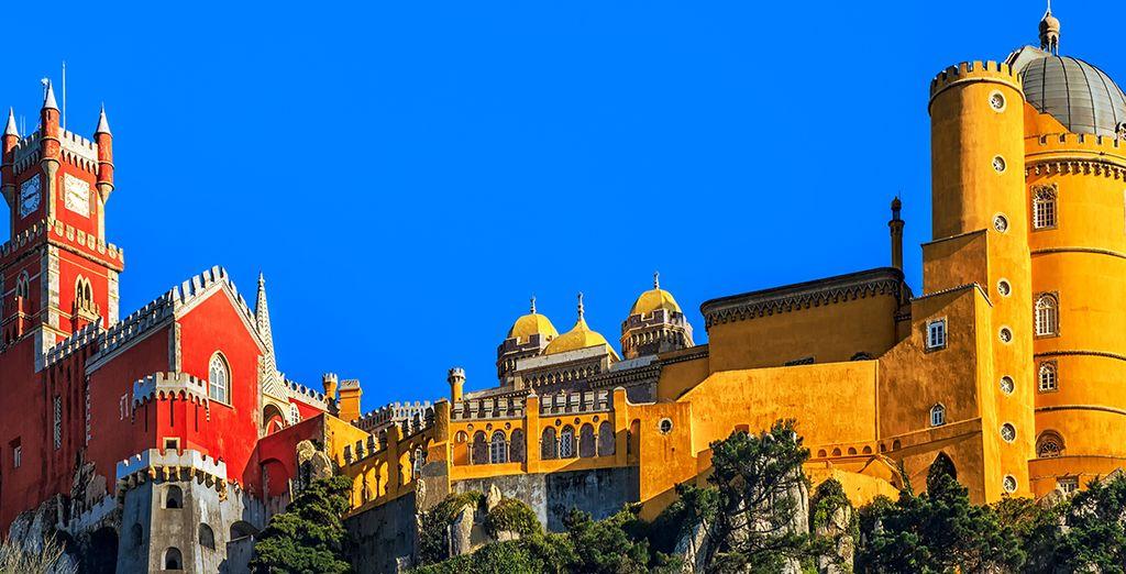 Explore its famous sights, like Sintra Castle