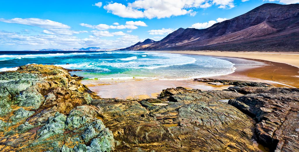 Discover Fuerteventura in Canarian Islands, a gorgeous sunny island in Spain