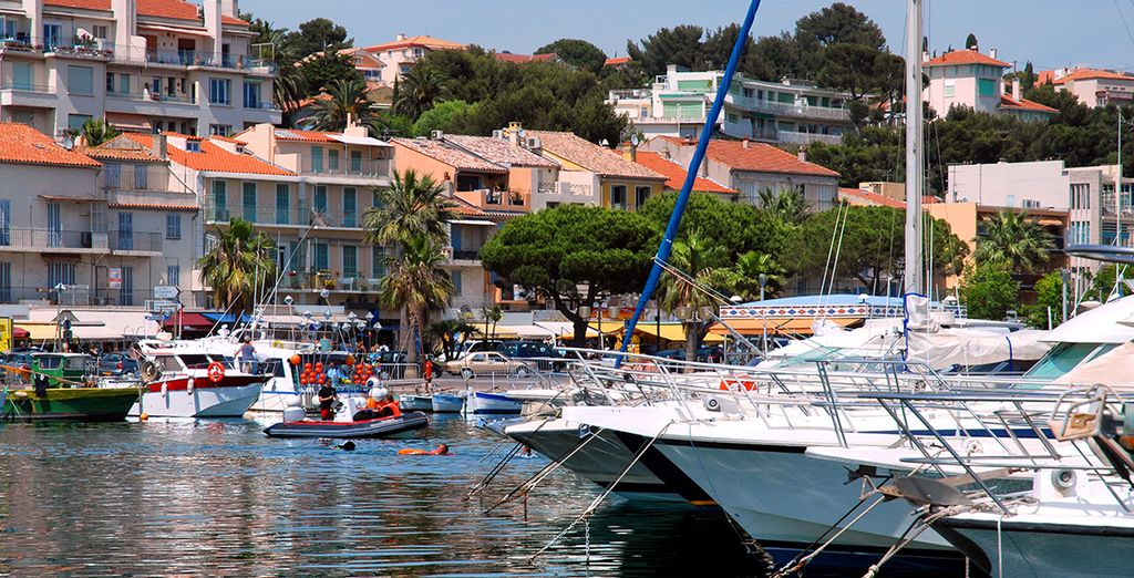 Holidays in the South of France - Marina Bandol