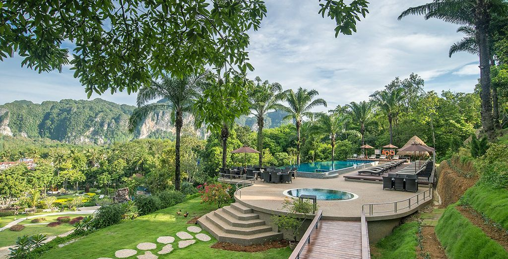 Hotels for sun holidays in Thailand