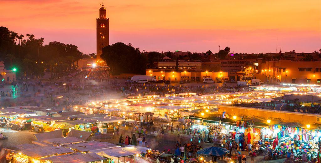 Holidays to Morocco - Jemaa El-Fnaa