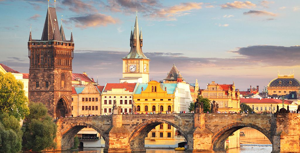 Explore Prague with its elegant architecture