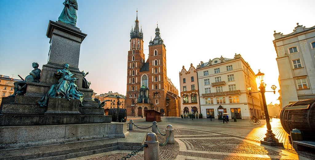 Holidays in October : Krakow
