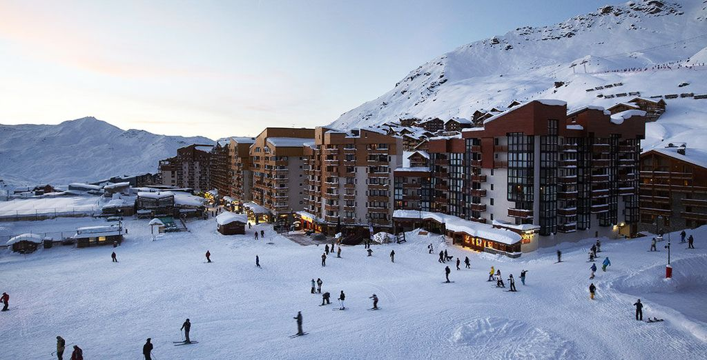 Ski holidays to Val Thorens
