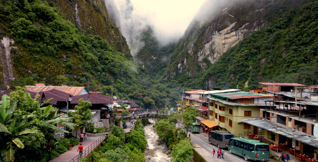 Explore Aguas Caliente during a tour of Machu Picchu