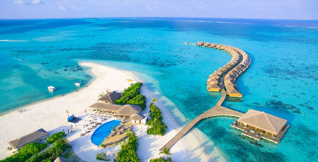 Cocoon Maldives 5* - the best luxury hotel in the Maldives