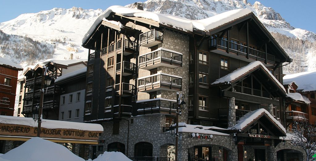 Hotel Avenue Lodge 5* - Ski accomodation in France