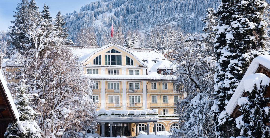 Le Grand Bellevue 5* - ski offers in Switzerland