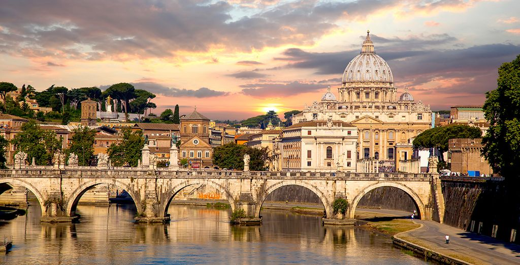 Holidays in october : rome
