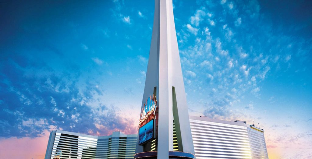 For a 3 night stay at the amazing Stratosphere Hotel
