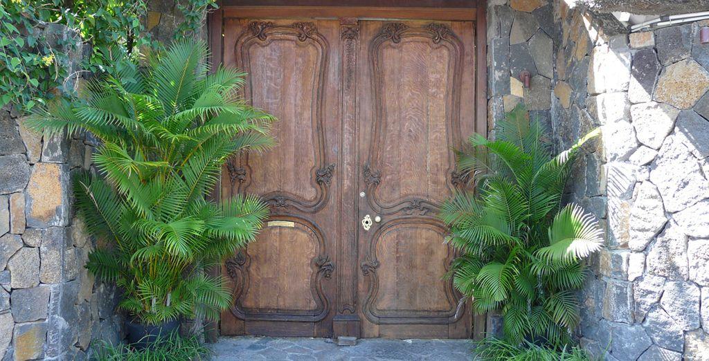 Enter through the elusive door - 20° Sud Boutique Hotel**** - Mauritius - Indian Ocean Mauritius
