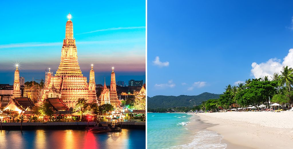 Discover the two sides of Thailand....