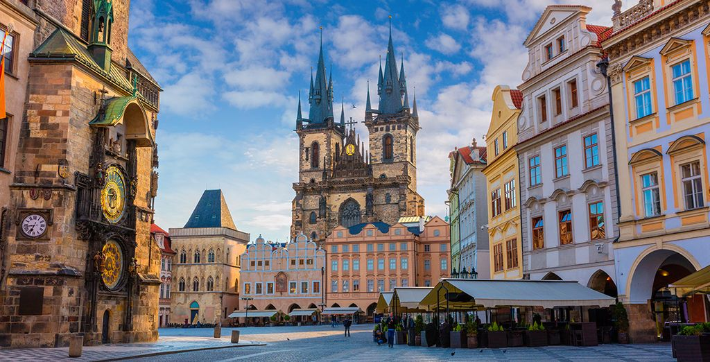 Explore Prague and its fairytale gothic architecture