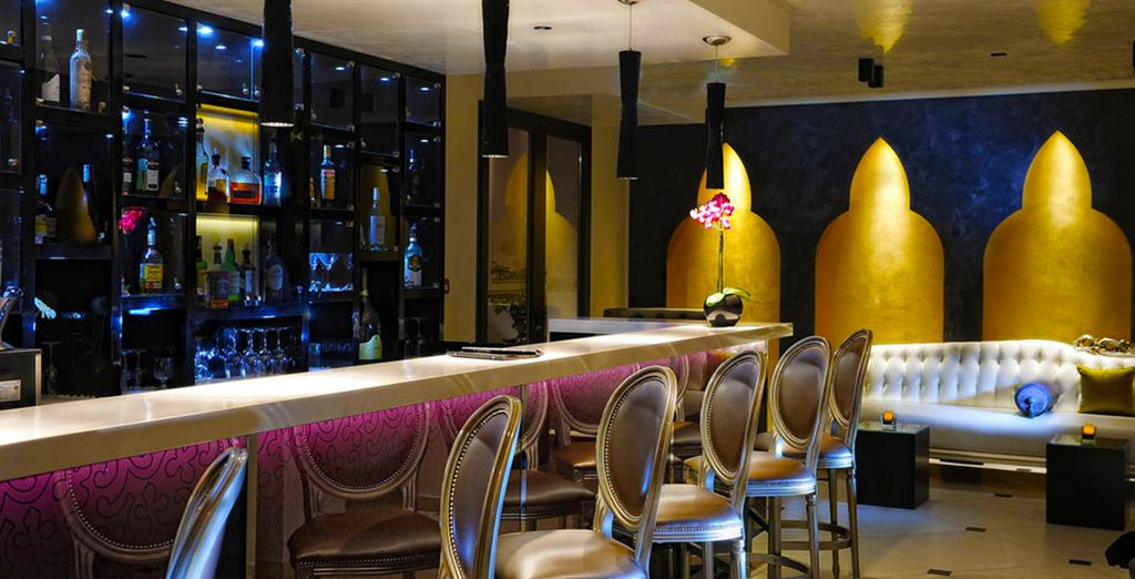 Treat yourself to a refreshing drink in the hotel's sophisticated bar