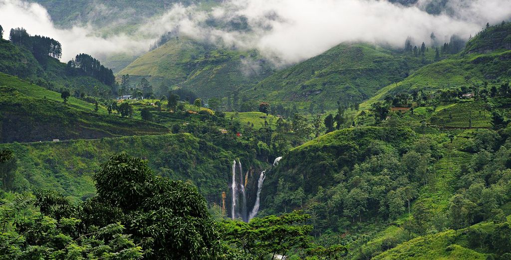 You will be travelling through stunning scenery (Nuwara Eliya)