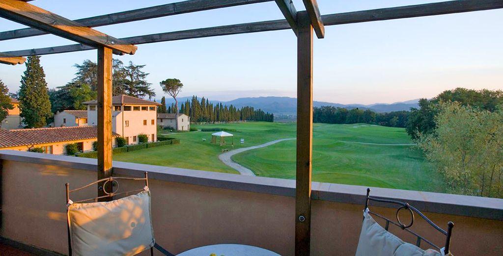 A beautiful golf resort in Scarperia