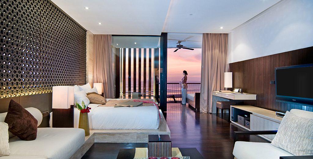 In an Anantara Ocean Suite