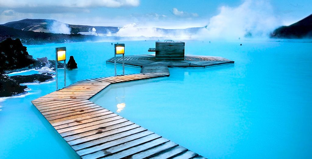 Including the famous Blue Lagoon