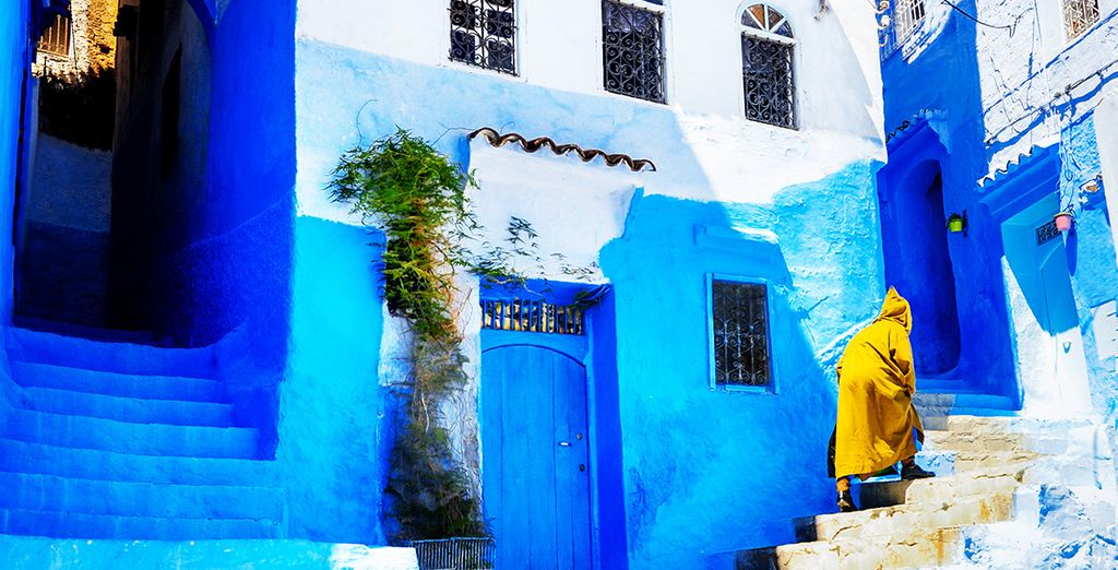 Get lost in its colourful streets...