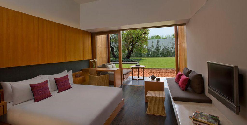 Where you'll stay at the Anantara Chiang Mai