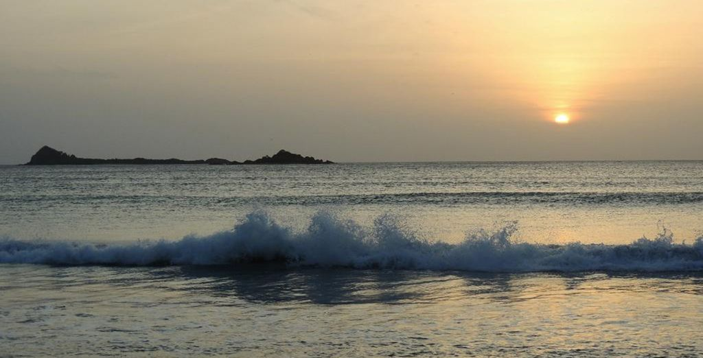 Or simply relax and watch the waves...
