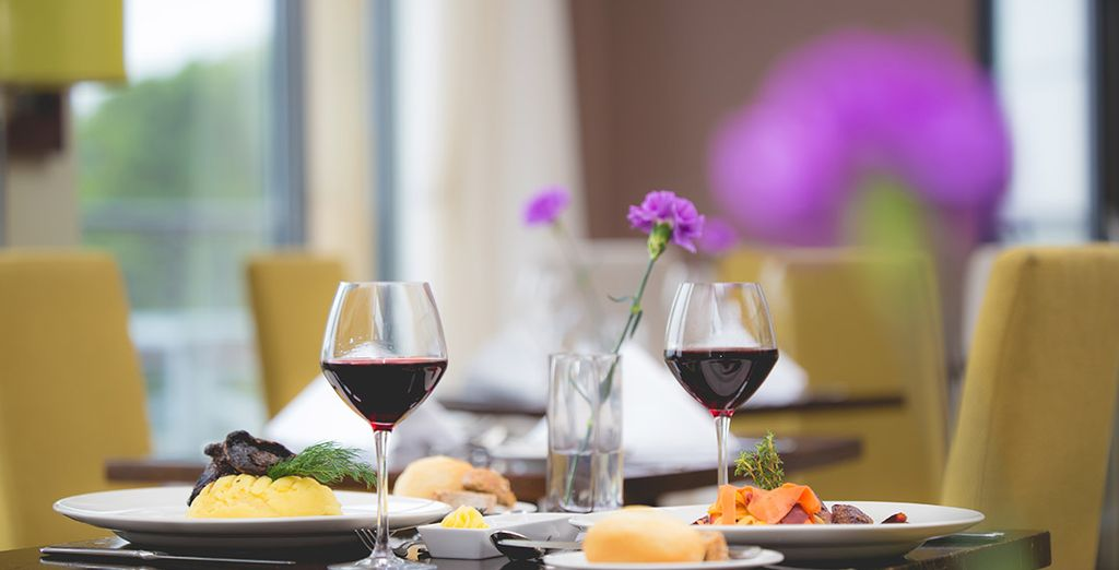 Enjoy a delicious meal at The Rockpool Restaurant